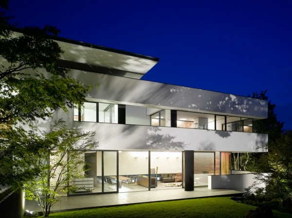 Unique design House Heidehof in Germany