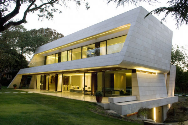 Beautiful mansion from A-Cero in Madrid, Spain